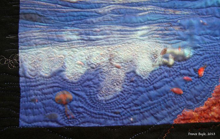 quilt Stromboli eau
