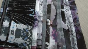 Claire : Projet de fin d'études, première collection de foulards de soie