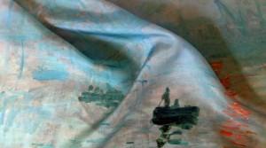 Reproduire sur foulard un tableau célèbre ou moins célèbre