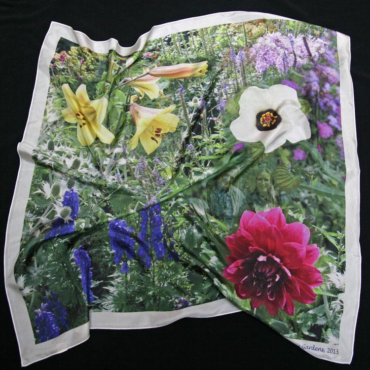 carré de soie impriession numérique montage photo