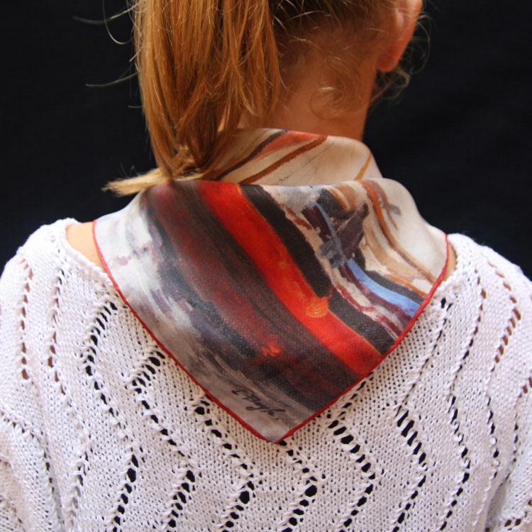 Foulards de soie sur mesure   formats classiques et formats ... f975c7b89d2