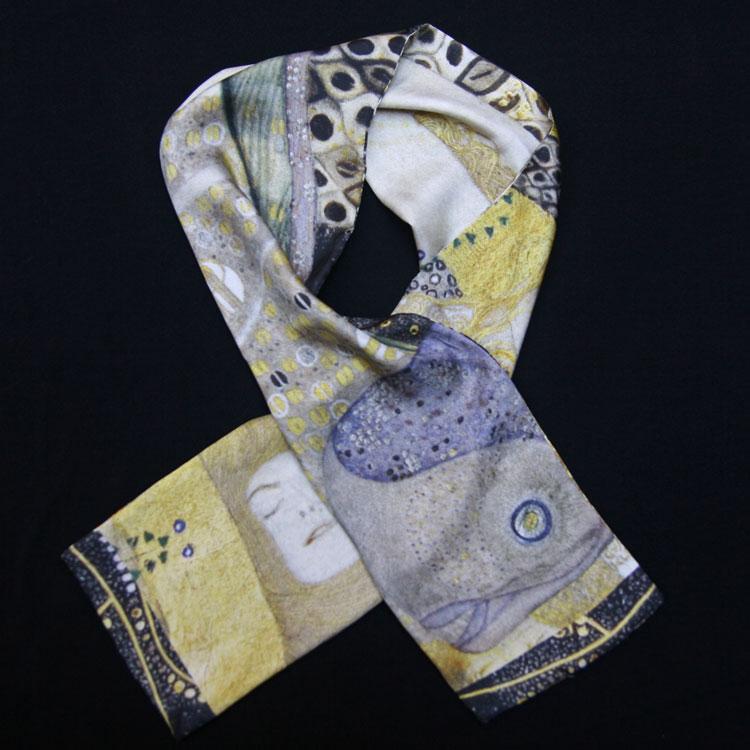 klimt-hydreI-foulard-homme