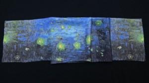 Foulards en soie Van Gogh: la Nuit étoilée et autres tableaux célèbres