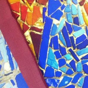Tejidos de seda - crepe estampado a medida por Fibra Creativa