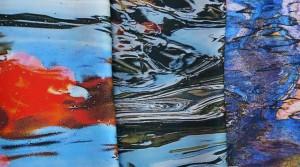 Jean Roché : Photographies sur satin de soie