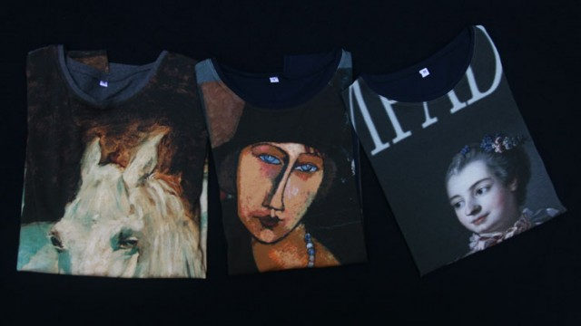 T-shirts all over portraits peints – automne 2014