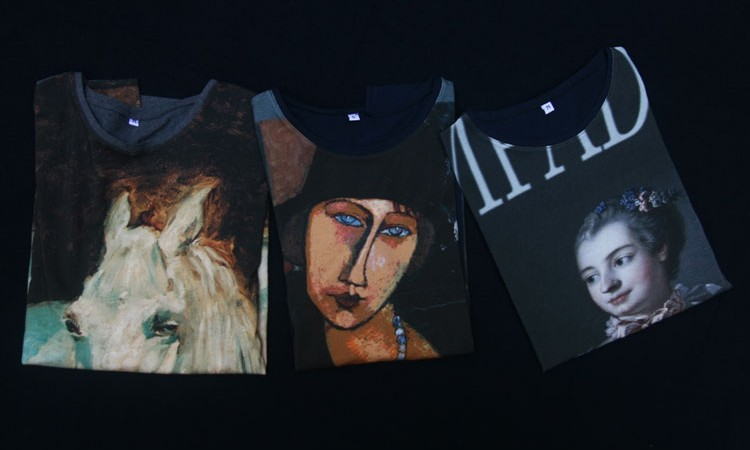 T-shirts all over collection automne hiver 2014 Fibra Creativa