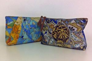 Fibra Creativa bespoke silk clutch bags