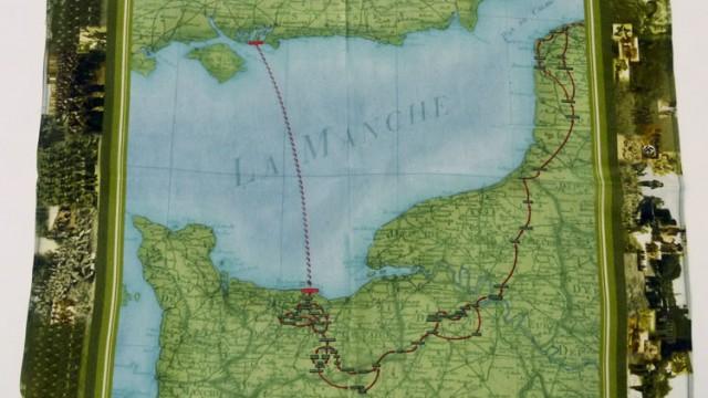 Foulard commémoratif du Débarquement de Normandie