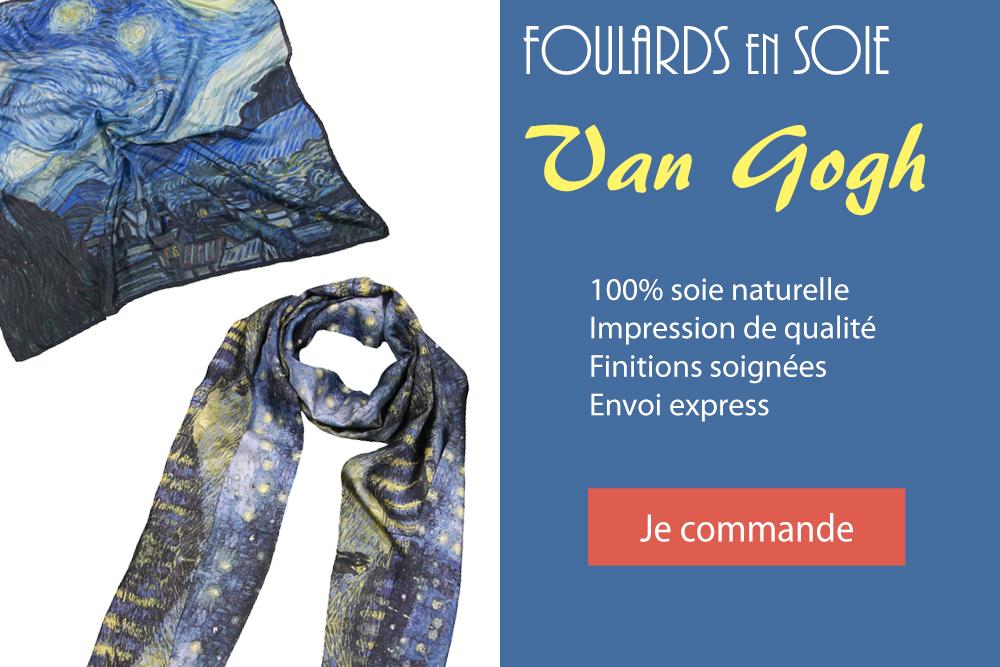 Commander foulard Van Gogh en ligne