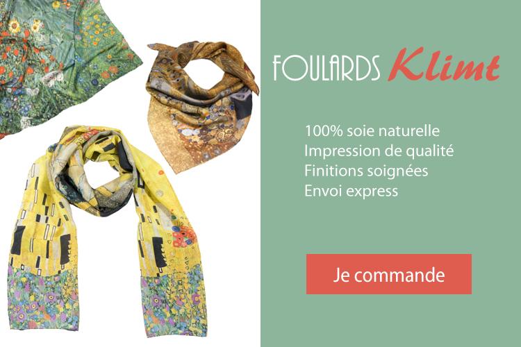 commander foulard Klimt en ligne