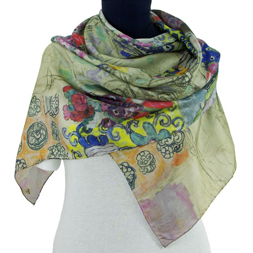 Klimt-foulard-Ria