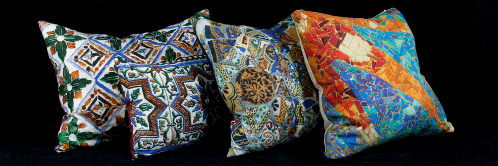 Cojínes originales de lino