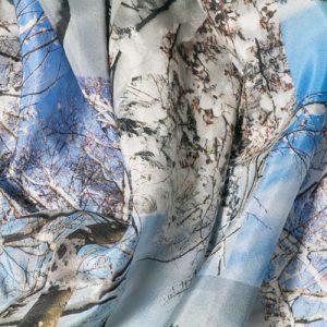 estampación en seda