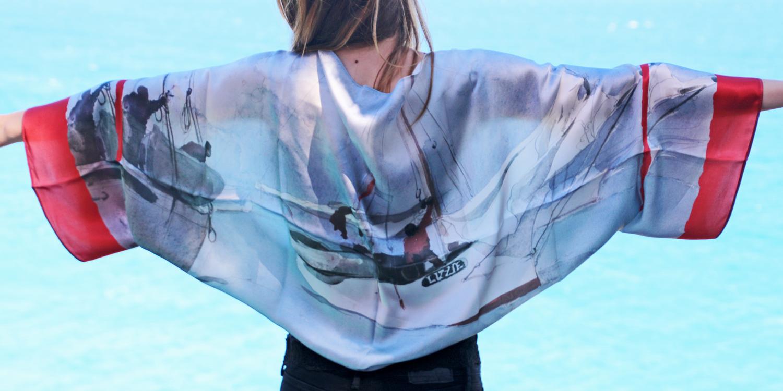 Pañuelos de seda personalizados - Fibra CretivaFibra Creativa a490d842d3a3