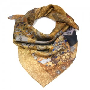 Klimt Adele silk scarf