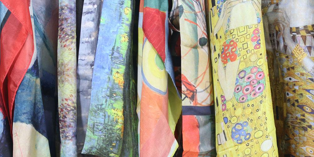 Célèbre Impression numérique textile - tissu de soie au mètre - Fibra  ZG53
