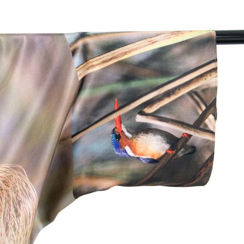 Bolero de seda Okavango pájaro 3