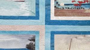 Kits de patchwork contemporáneo y paneles estampados originales