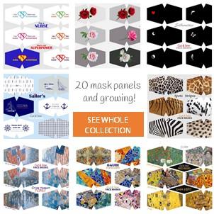 Fibracreativa DIY fabric face mask panel collection