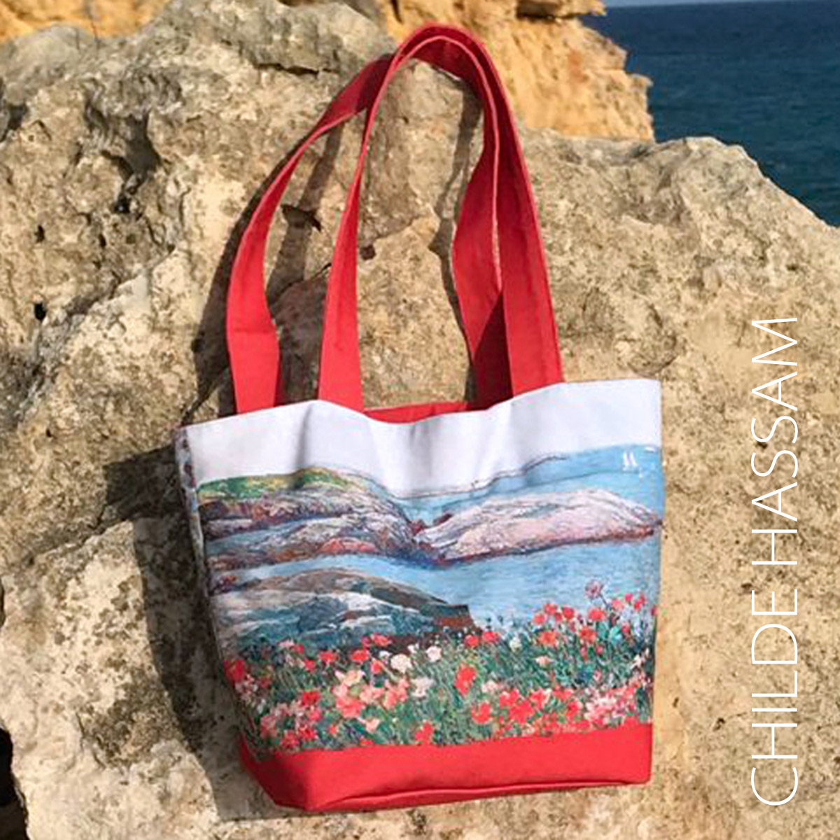 Chile hassam Isle of Shoals Tote bag