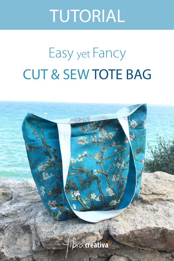 cut and sew tote bag tutorial easy and fancy